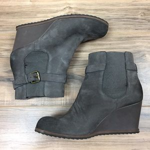 14th & Union Wedge Bootie
